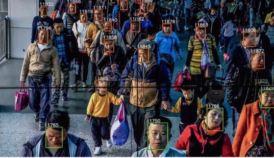 China have the advantage of not caring too much about how their citizens feel about ever rising levels of surveillance.