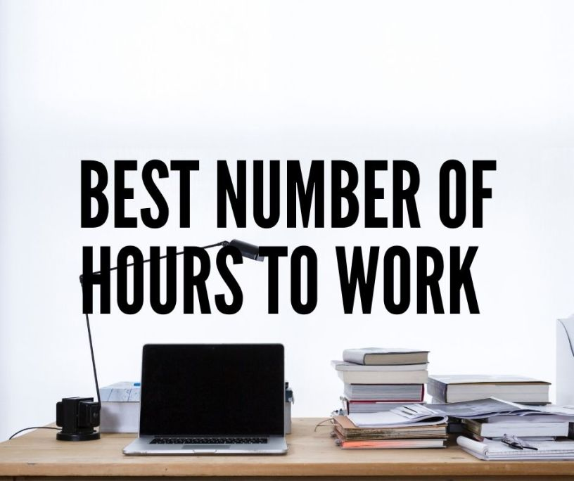 number of hours to work